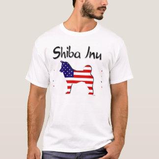 Patriotic USA Shiba Inu T-Shirt