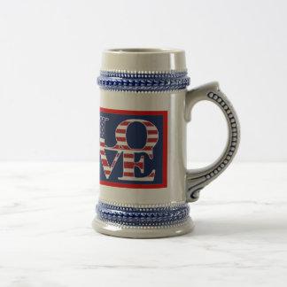 Patriotic Valentine's Day Mug