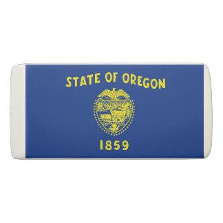Patriotic Wedge Eraser with flag Oregon