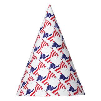 Patriotic-Weiner Party Hat