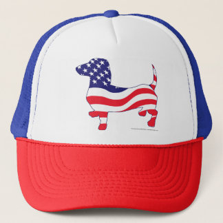 Patriotic-Weiner Trucker Hat