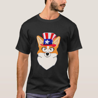 Patriotic Welsh Corgi T-Shirt