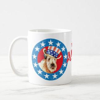 Patriotic Wheaten Coffee Mug