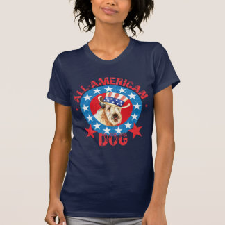 Patriotic Wheaten T-Shirt