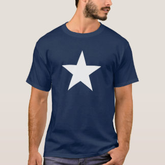 Patriotic White Star T-Shirt