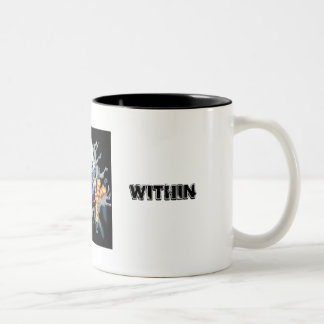 PATRIOTIC WITHIN Two-Tone COFFEE MUG