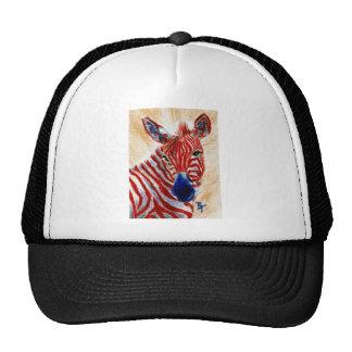 Patriotic Zebra Hat