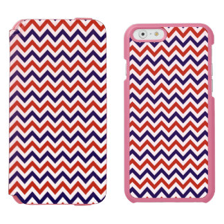 Patriotic Zigs & Zags Incipio Watson™ iPhone 6 Wallet Case