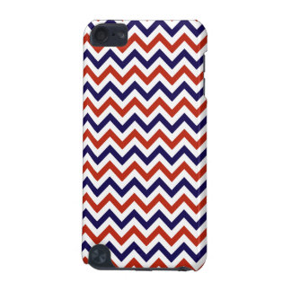 Patriotic Zigs & Zags iPod Touch (5th Generation) Covers