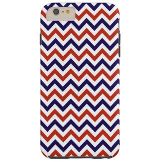 Patriotic Zigs & Zags Tough iPhone 6 Plus Case