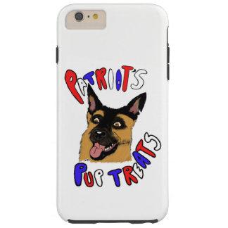 Patriot's Pup Treats Tough iPhone 6 Plus Case