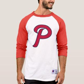 Patriots Red/White Raglan T-Shirt