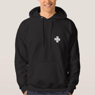 Patrol Hoodie- White Crosses Hoodie