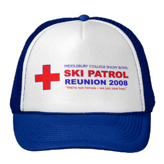 Patrol Reunion 08 Trucker Trucker Hat