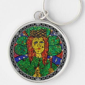 Patron Saint Of Depression And Anxiety St Dymphna Keychain