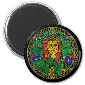 Patron Saint Of Depression And Anxiety St Dymphna Magnet