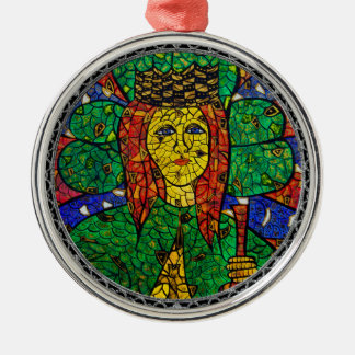 Patron Saint Of Depression And Anxiety St Dymphna Metal Ornament