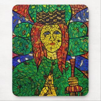 Patron Saint Of Depression And Anxiety St Dymphna Mouse Pad