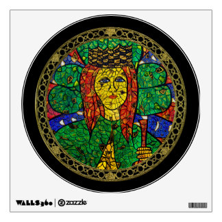 Patron Saint Of Depression And Anxiety St Dymphna Wall Decal