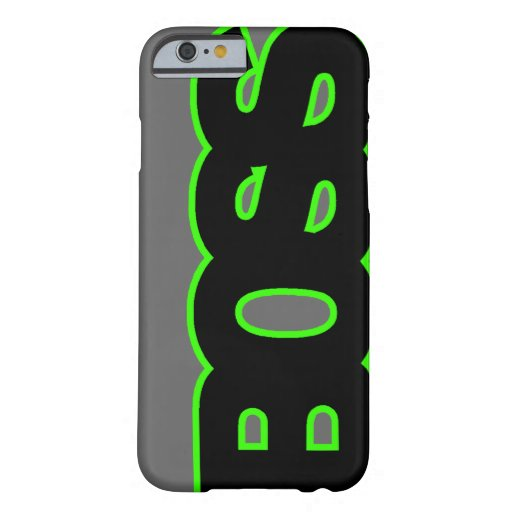 PATRON vert au néon Coque iPhone 6 Barely There