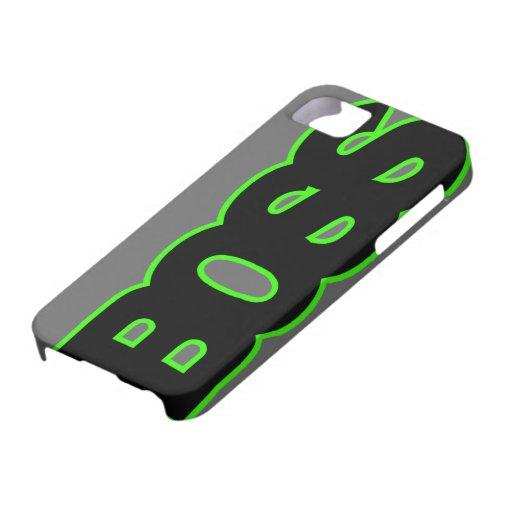 PATRON vert au néon Coque Case-Mate iPhone 5