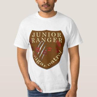 Patrouille junior de puma de garde forestière t shirt