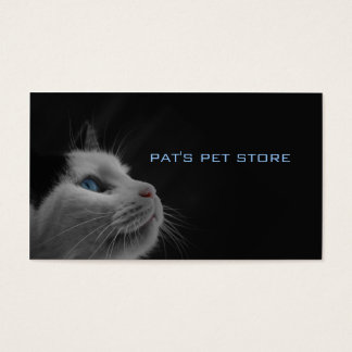 Pat's Pet Store Business Card