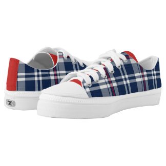Pats Plaid Low-Top Sneakers