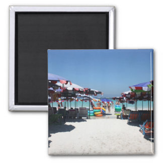 Pattaya Beach Umbrellas Magnet