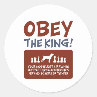 Patterdale Terrier Sticker