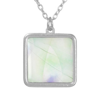 Pattern 2017002 silver plated necklace