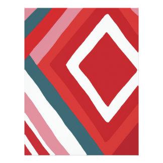Pattern 2 customized letterhead