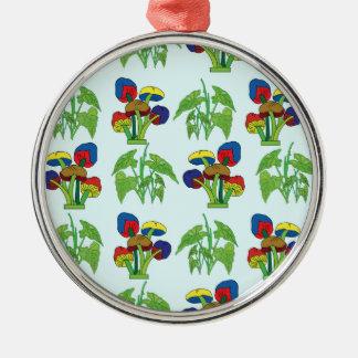 Pattern 3 metal ornament