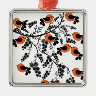 Pattern 4 metal ornament