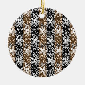 pattern 50 ceramic ornament