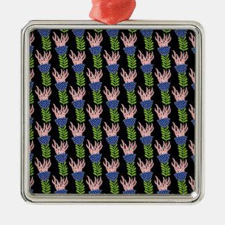 pattern 53 metal ornament