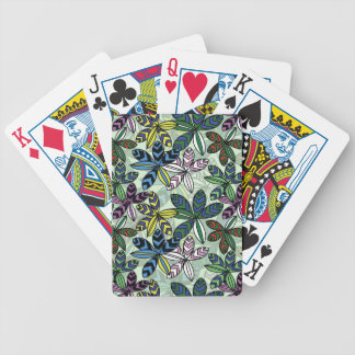 Pattern A Bicycle Playing Cards