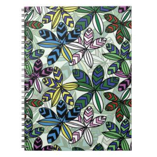 Pattern A Spiral Notebook