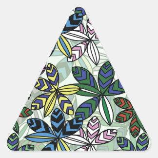 Pattern A Triangle Sticker