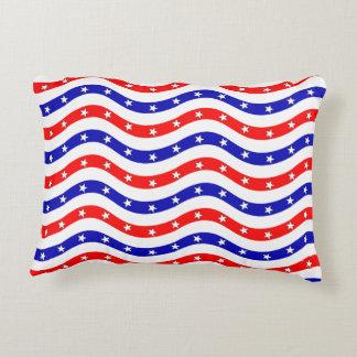 Pattern American Flag Decorative Pillow
