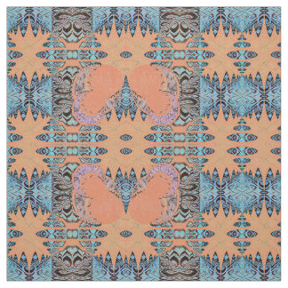Pattern and Moons Fabric