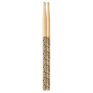 Pattern black Women's shoes Drumsticks