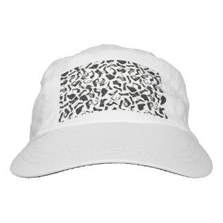Pattern black Women's shoes Hat