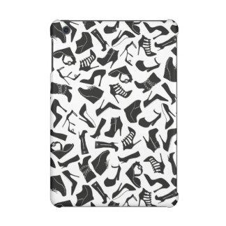 Pattern black Women's shoes iPad Mini Cases
