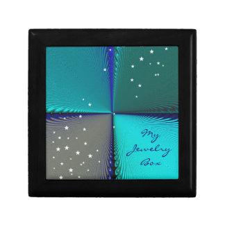 Pattern Blue Infinity Gift Box