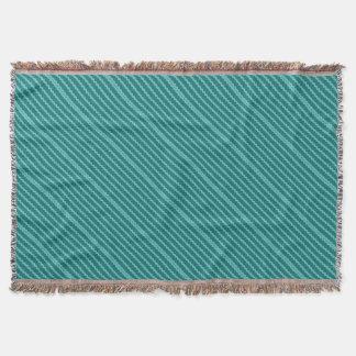 Pattern Blue Stripes - Lines zigzag Throw