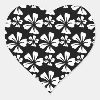 pattern C Heart Sticker