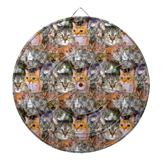 Pattern Cats Dartboard