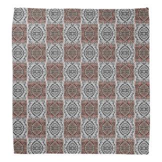 Pattern Checkers Bandana
