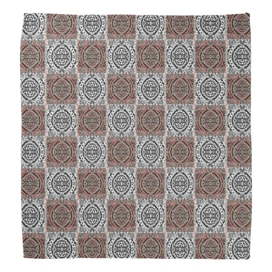 Pattern Checkers Kerchief